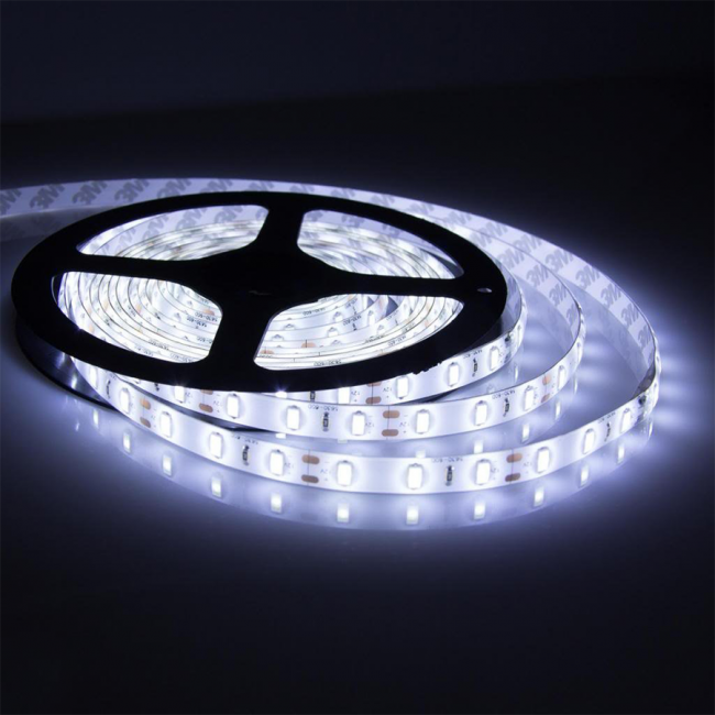 Strip Light-5mtr-12V-45W-Cool White