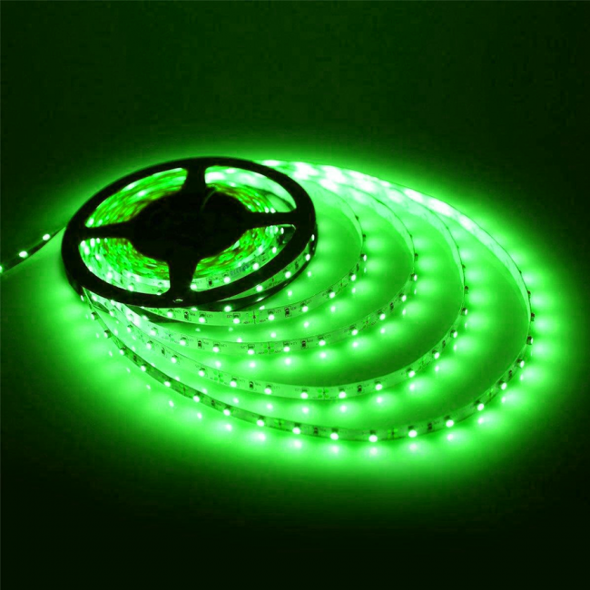 Strip Light-5mtr-12V-45W-Green
