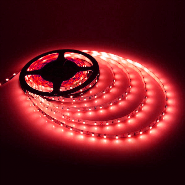 Strip Light-5mtr-12V-30W-Red