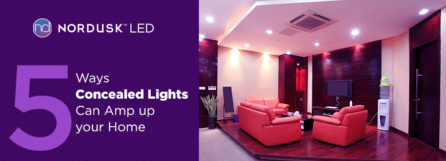 Concealed LED lighting in India